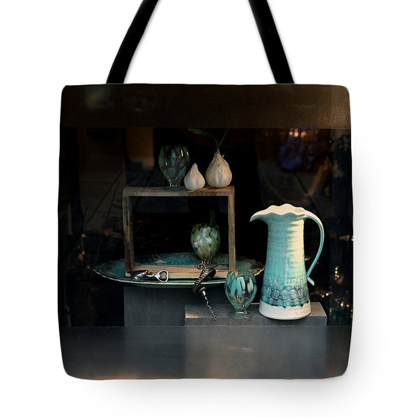 Tote Bag featuring the photograph In The Window by Dorin Adrian Berbier