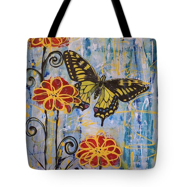 On The Wings Of A Dream Tote Bag