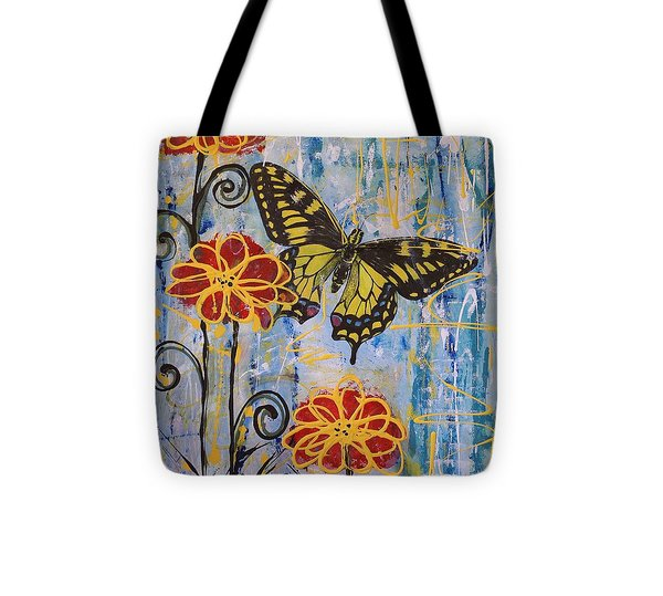 On The Wings Of A Dream Tote Bag by Jane Chesnut