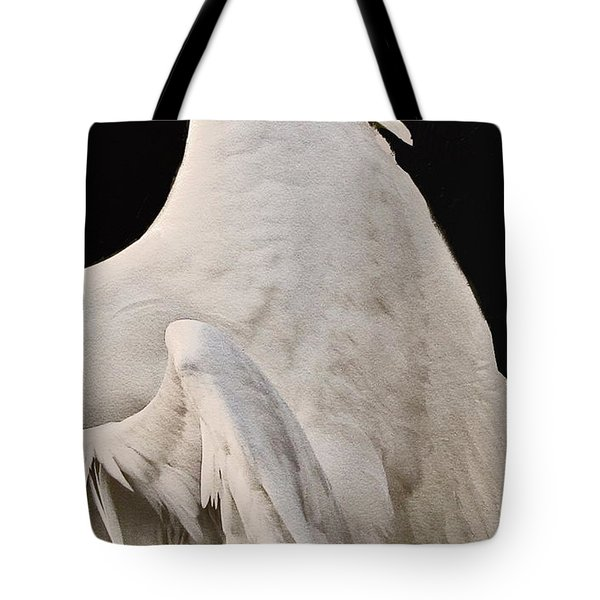 On The Wings Of A Swan Tote Bag