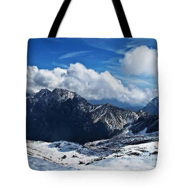 On Top Of Germany Tote Bag