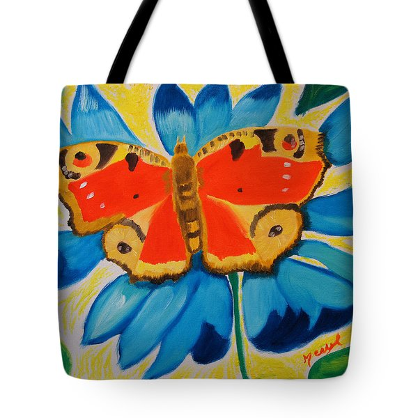 On Top Of My World Tote Bag by Meryl Goudey
