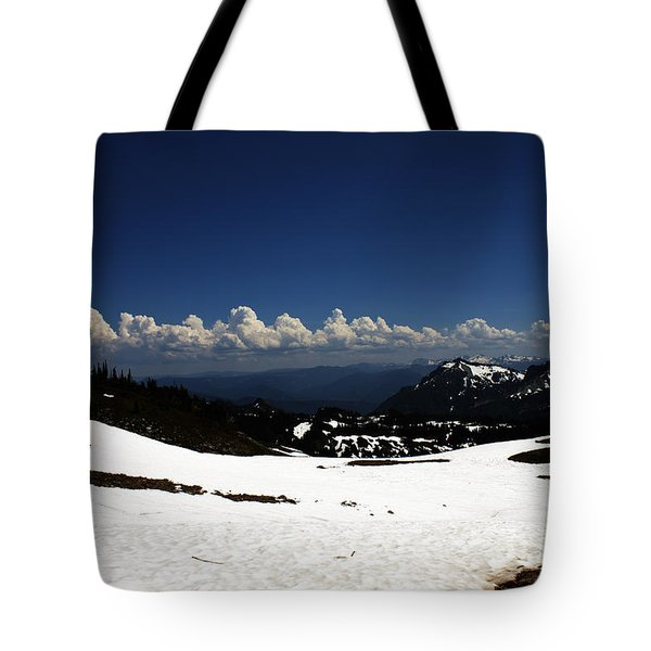 On Top Of Paradise Tote Bag