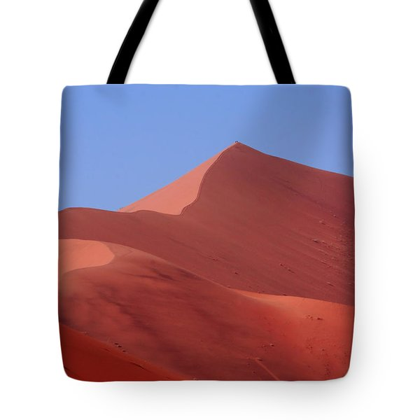On Top Of The World Tote Bag by Aidan Moran