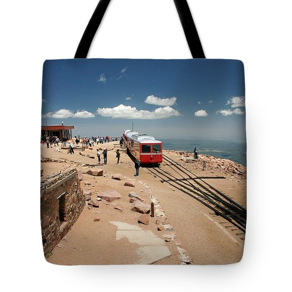 On Top Of The World Tote Bag