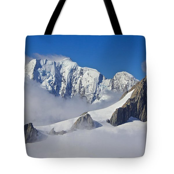 On Top Of The World Tote Bag by Venetia Featherstone-Witty