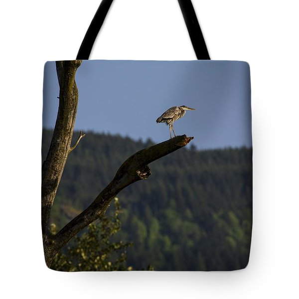 Tote Bag featuring the photograph On Top Of The World by Windy Corduroy
