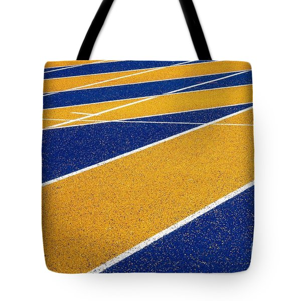 On Track Tote Bag