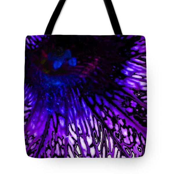 On Wings Of Veins Tote Bag