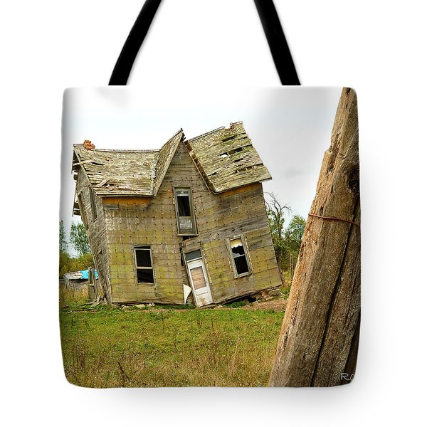 Tote Bag featuring the photograph Once A Home by Ron Haist