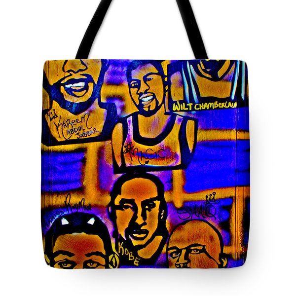 Once A Laker... Tote Bag by Tony B Conscious