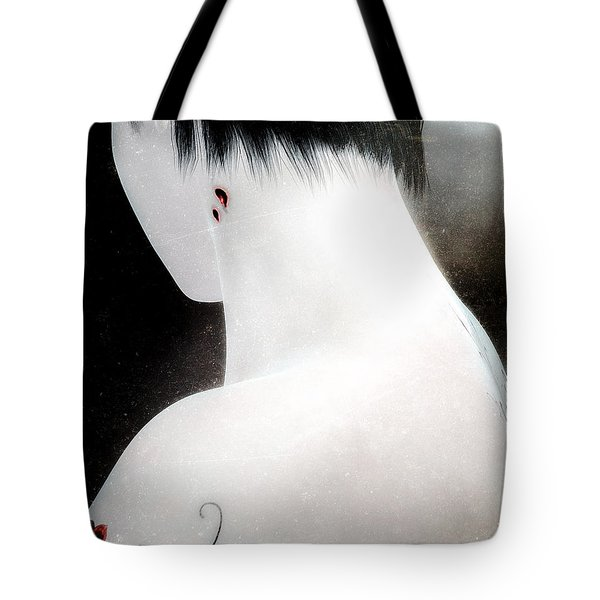 Once Bitten Tote Bag by Bob Orsillo