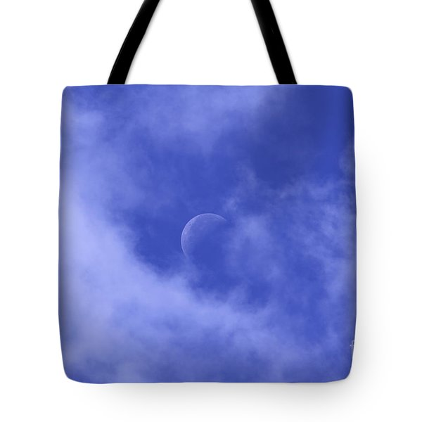 Tote Bag featuring the photograph Once In A Blue Moon by Judy Whitton