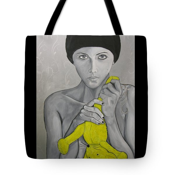 Once There Was A Girl Tote Bag by Darlene Graeser