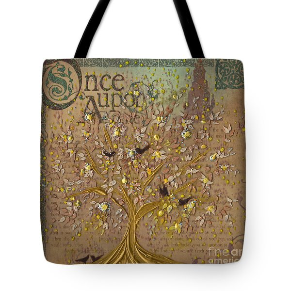 Once Upon A Golden Garden By Jrr Tote Bag