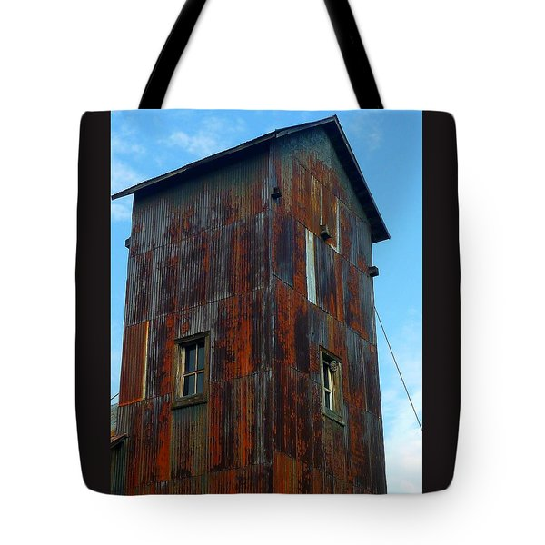 Tote Bag featuring the photograph Once Upon A Mine by Gigi Dequanne