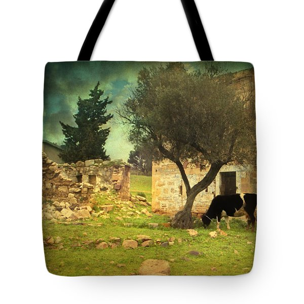 Once Upon A Time In Phokaia  Tote Bag by Taylan Apukovska