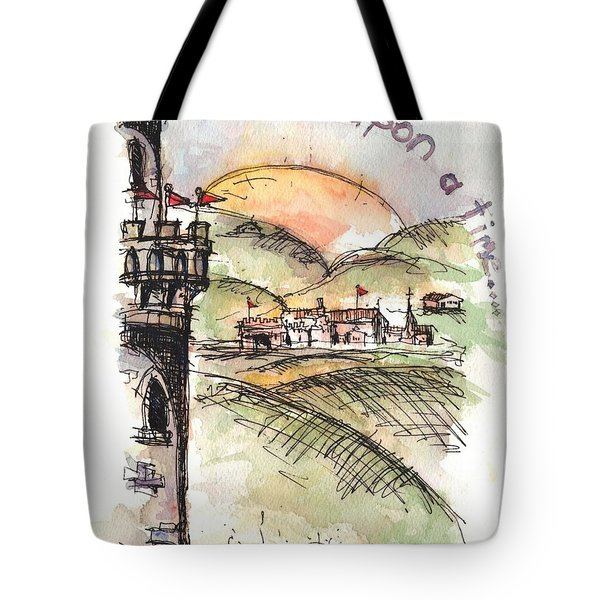 Once Upon A Time Tote Bag by Jason Nicholas