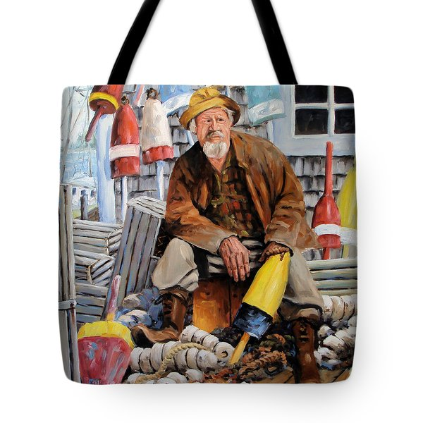 Once Upon A Time We Were Mariners Tote Bag by Richard T Pranke