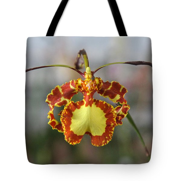 Oncidium Dancing Lady  Tote Bag by Venetia Featherstone-Witty