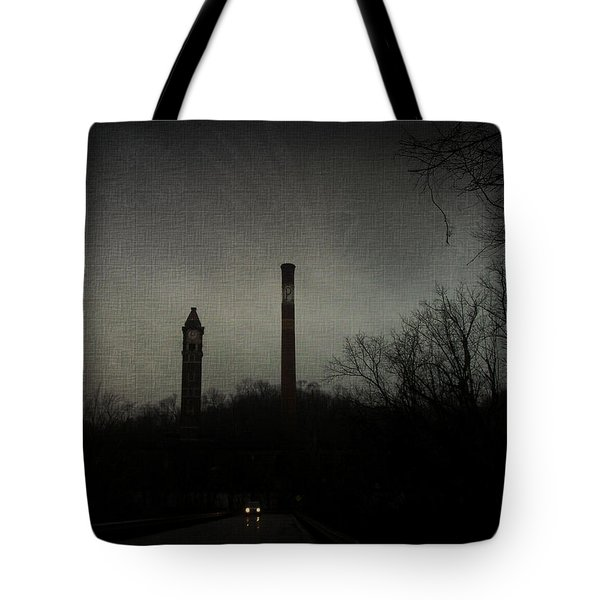 Oncoming Tote Bag by Cynthia Lassiter