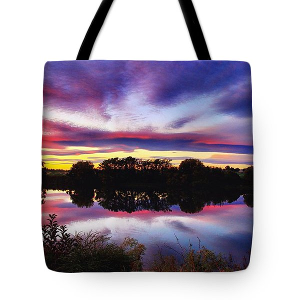 One Autumn Evening Tote Bag