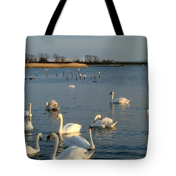 Tote Bag featuring the photograph One Big Family... by Katy Mei
