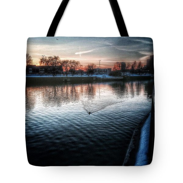 One By Air One By Sea Tote Bag