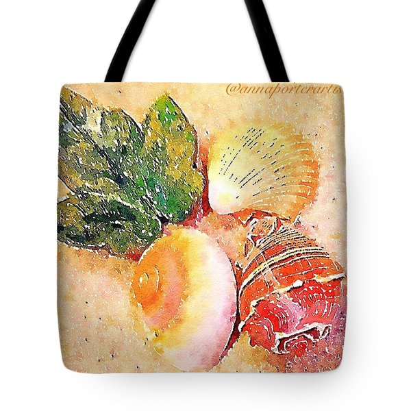 All The Beautiful Shells Tote Bag