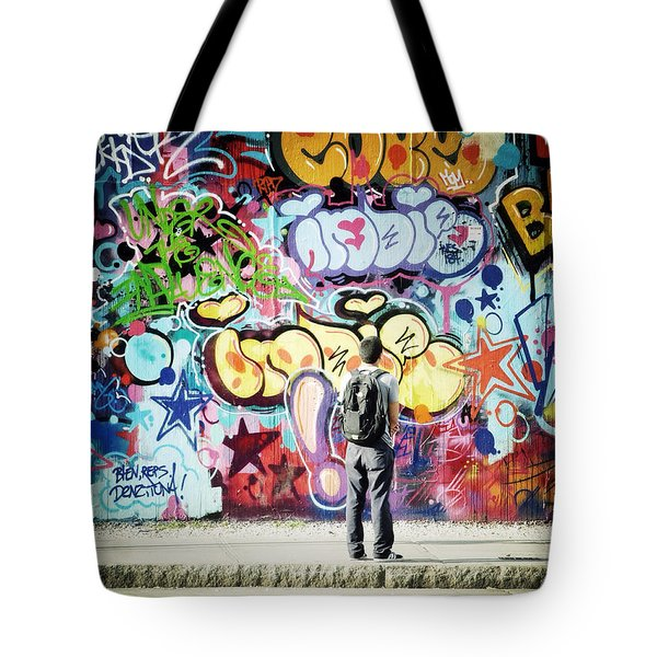 One Can't Paint New York As It Is But Rather As It Is Felt Tote Bag