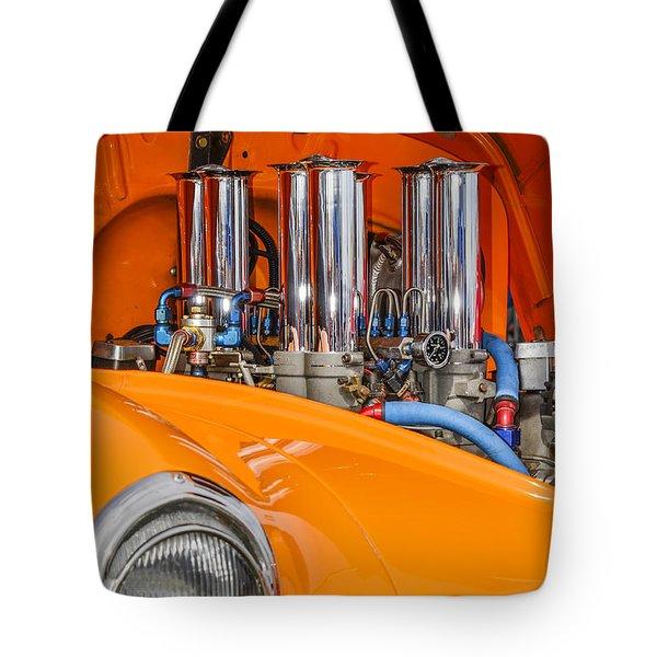 One Chrome Light Tote Bag by Carolyn Marshall