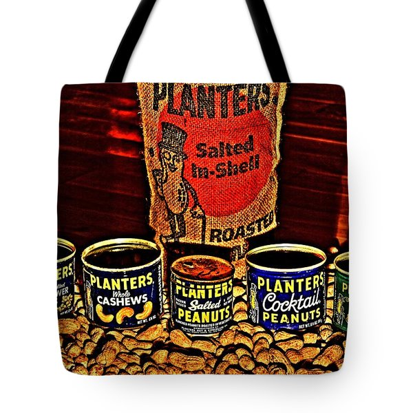 One Classy Nut Tote Bag by Benjamin Yeager