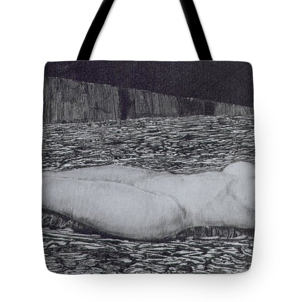 One Corpse Tote Bag by August Bromse