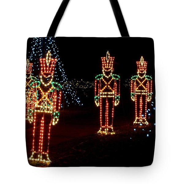 One Crooked Toy Soldier Tote Bag