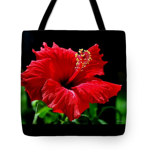 One Day Flower Tote Bag