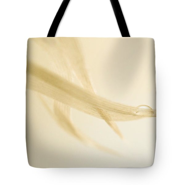 One Drop Of Water Tote Bag by Bob Orsillo