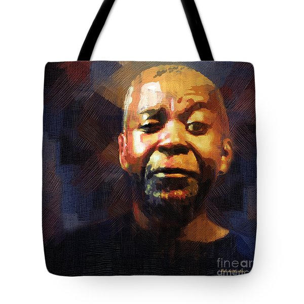 One Eye In The Mirror Tote Bag
