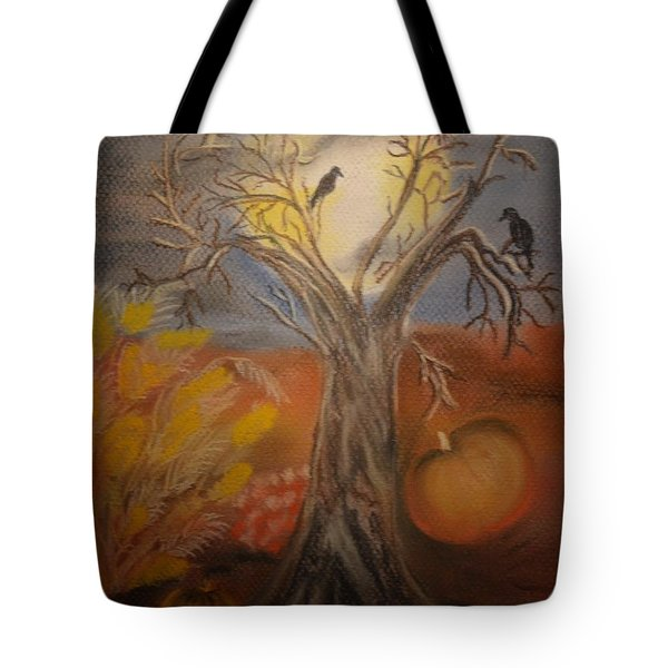 One Hallowed Eve Tote Bag by Maria Urso