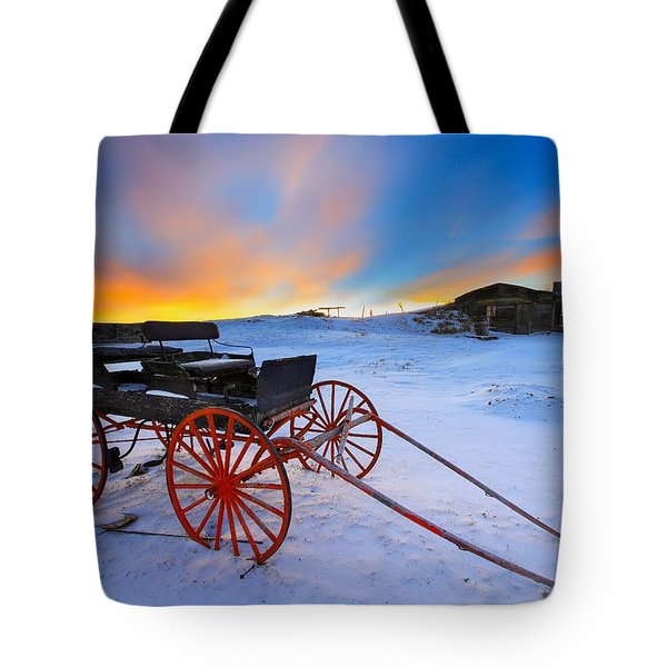 One Horsepower Tote Bag by Kadek Susanto