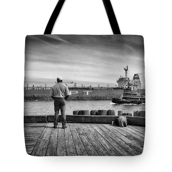 One Last Look Tote Bag