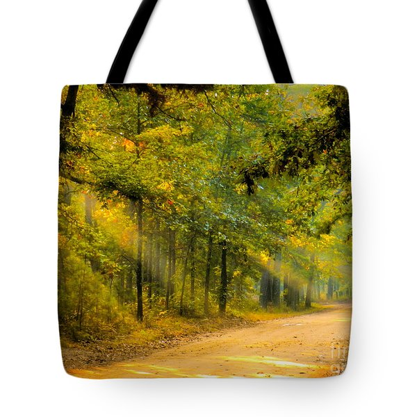 One Misty Morning Tote Bag