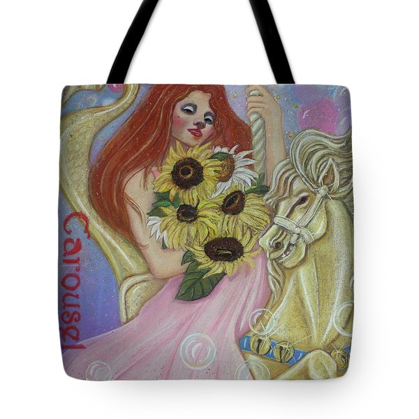 One More Ride On The Merry-go-round Tote Bag