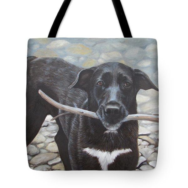 Tote Bag featuring the painting One More Time by Tammy Taylor