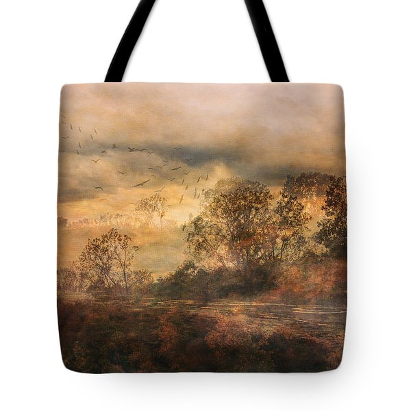 One October Day Tote Bag