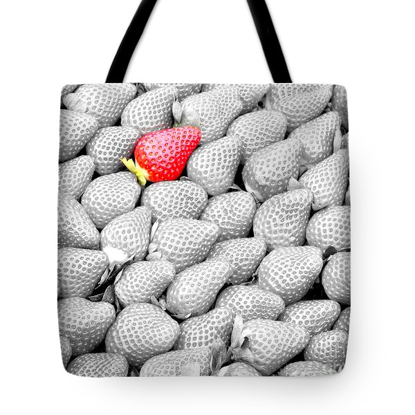 Tote Bag featuring the photograph One Of A Kind by Mariarosa Rockefeller