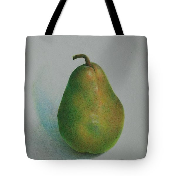 One Of A Pear Tote Bag by Pamela Clements