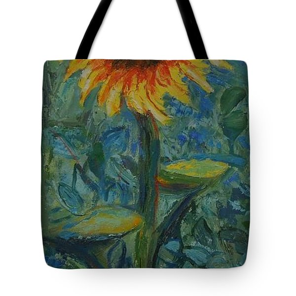 One Sunflower - Sold Tote Bag