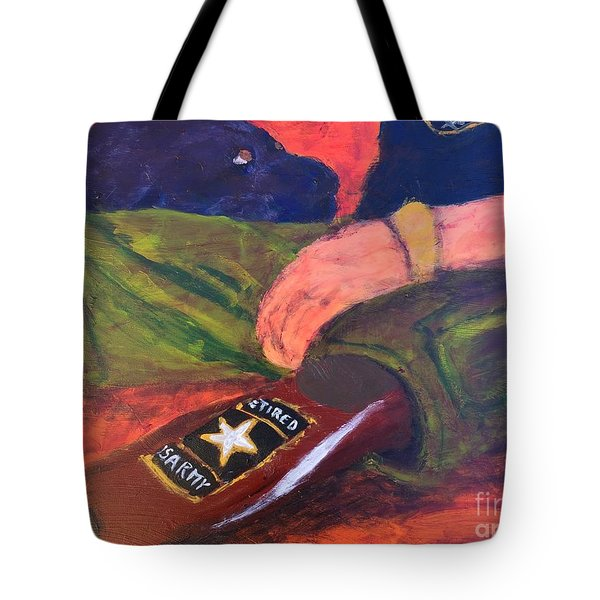One Team Two Heroes - 2 Tote Bag by Donald J Ryker III