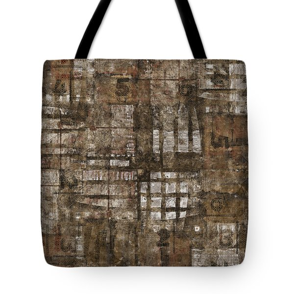 One Through Six Tote Bag by Carol Leigh