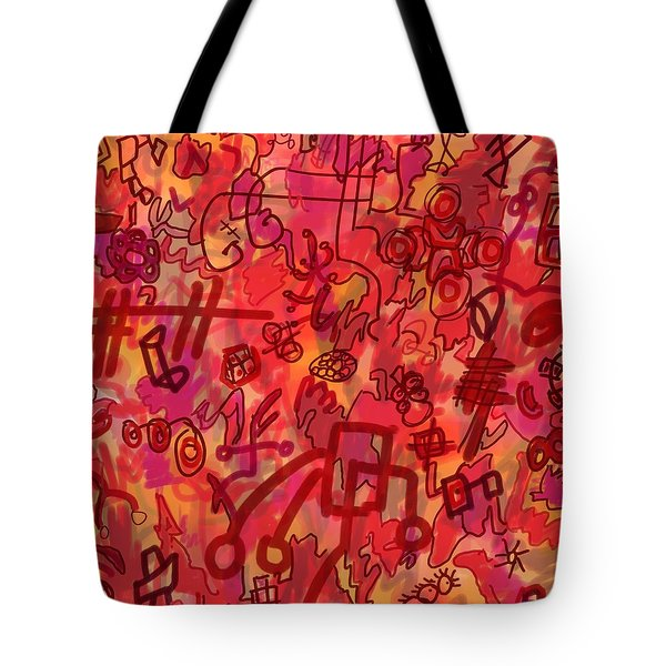 One Wall Tote Bag